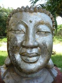 Buddha head, Hat Yai