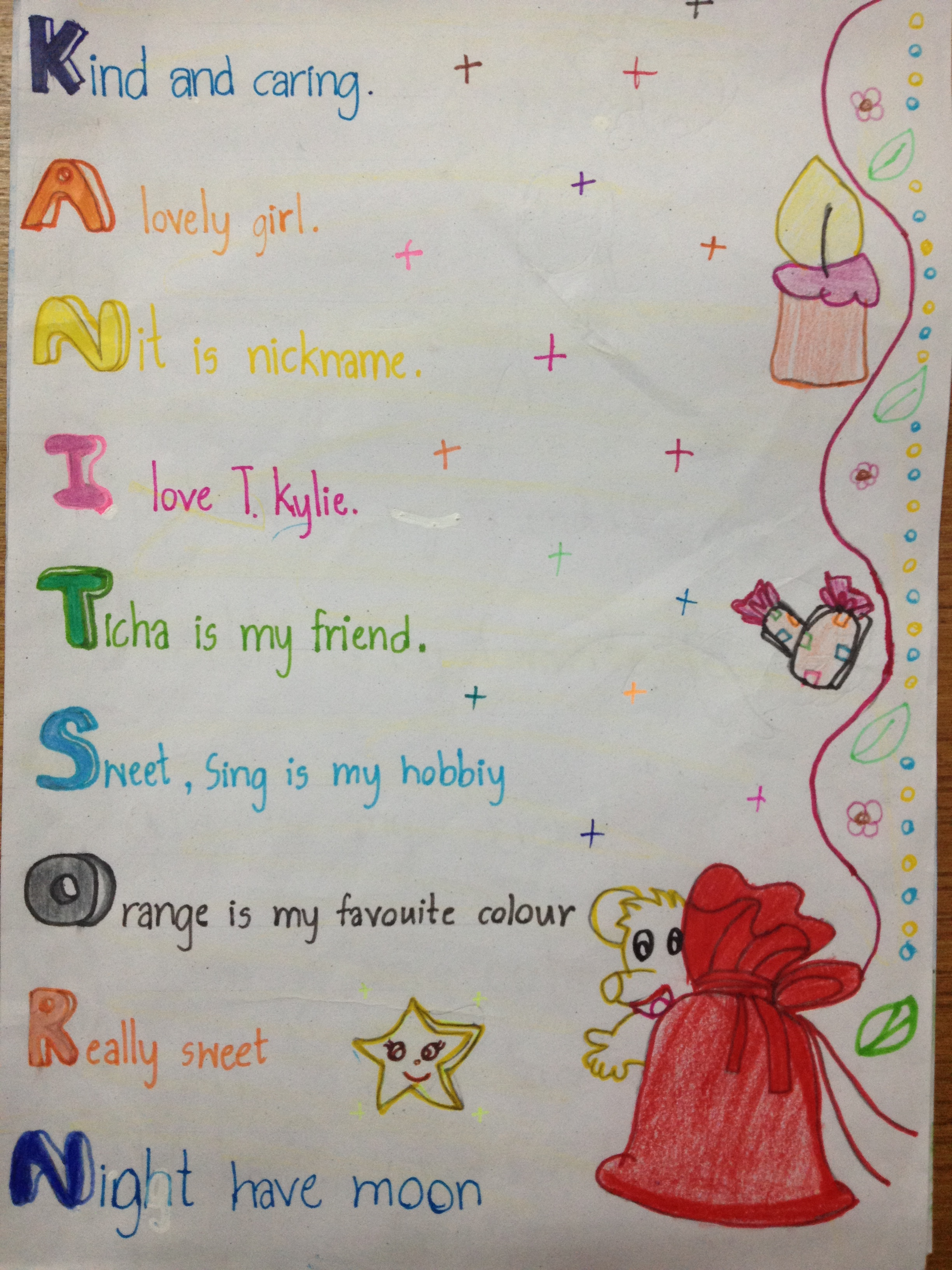 73 Acrostic Poems - Examples and Definition of Acrostic Poems   Acrostic Poems With The Name Terri