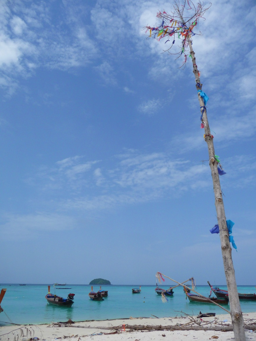 Photo of the day: Wishing tree, Koh Lipe.
