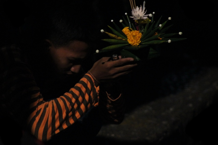 Photo of the day - Krathong Prayers