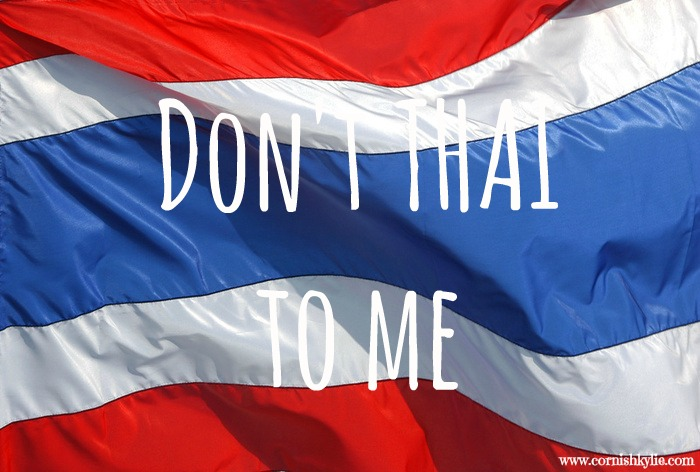Don't THAI to me; Thailand's culture for bending thetruth