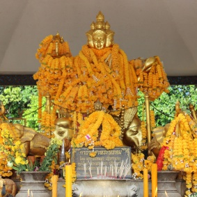 Hindu-Buddhist statue, Hat Yai