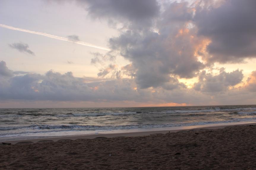 School camp sunrise