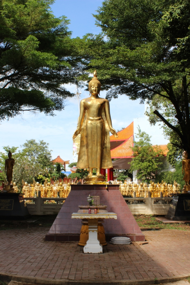 Entrance to monk graveyard, Hat Yai