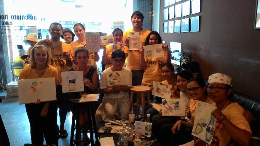 Phuket Sketchwalk 2015