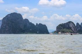 Approaching Koh Panwee