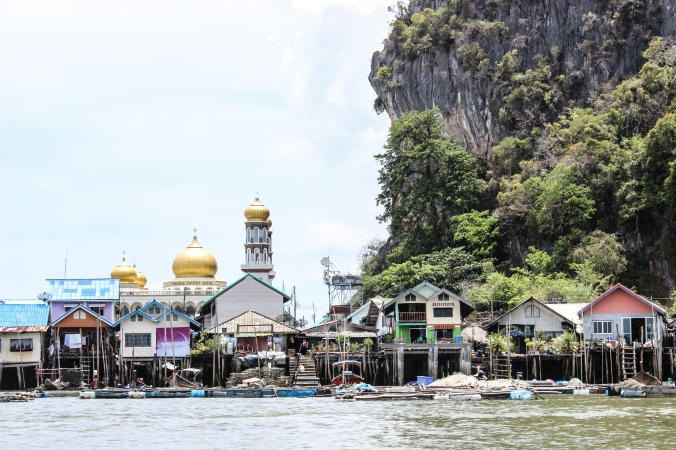 Koh Panyee from the water